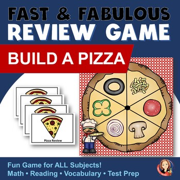 Review Game for Any Subject - Pizza Theme