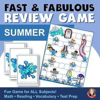Summer Review Game for Any Subject