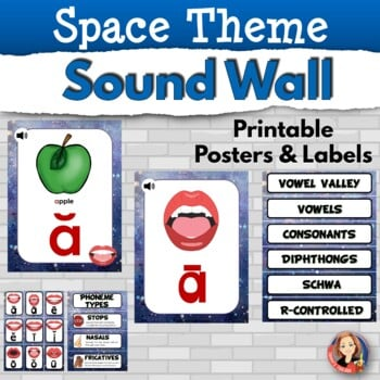 Printable Sound Wall Posters in Space