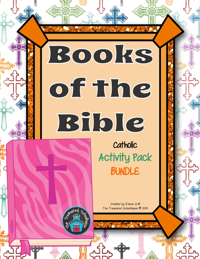 Books of the Bible Printable Worksheets and Activities