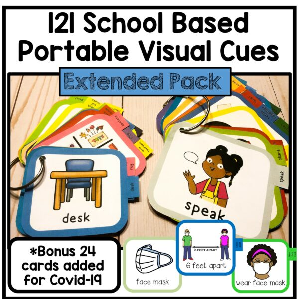 Visual Cue Cards for Classrooms