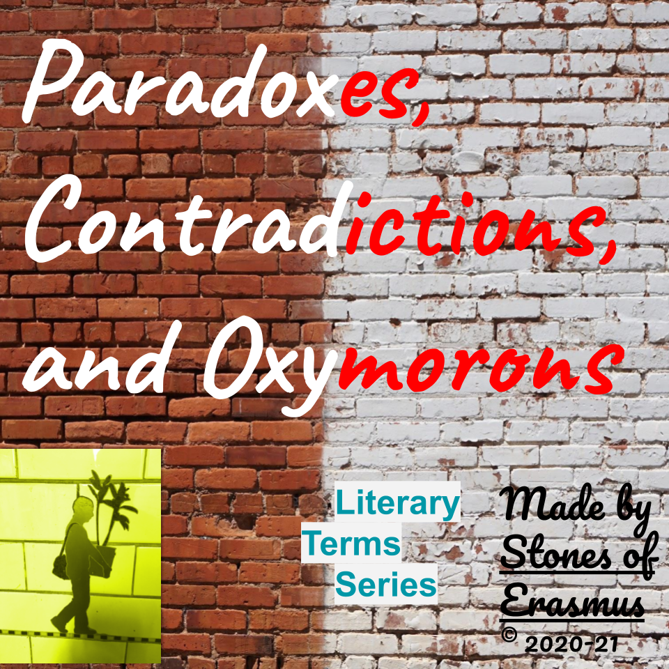 Paradoxes Contradictions Oxymorons Lessons