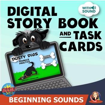 Beginning Consonants Boom Cards Phonics Practice
