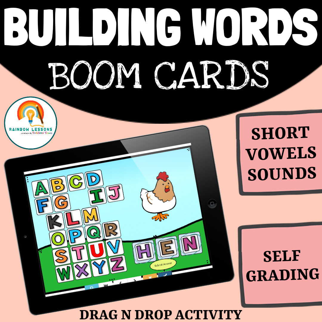 Building Words Activity Boom