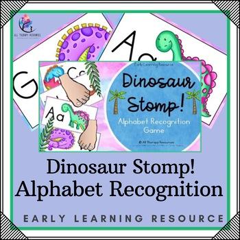 Alphabet Recognition - Dinosaur Stomp!
