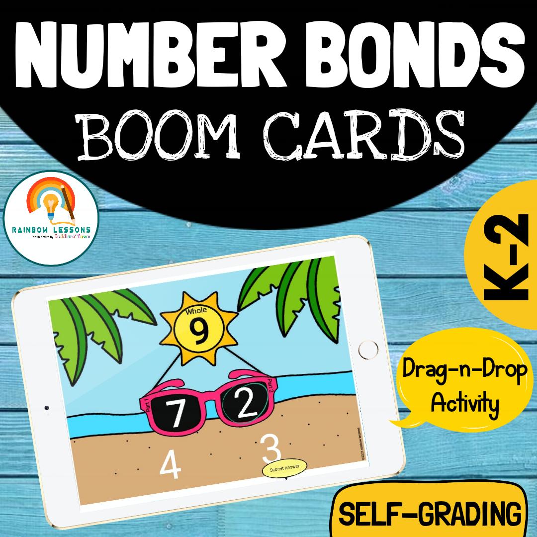 Number Bonds to 10 | Number Bonds Boom Cards