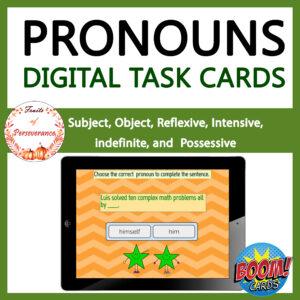 Personal and Possessive Pronouns Boom Cards™