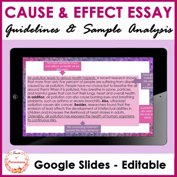 Cause and Effect Essay Writing Guidelines & Sample