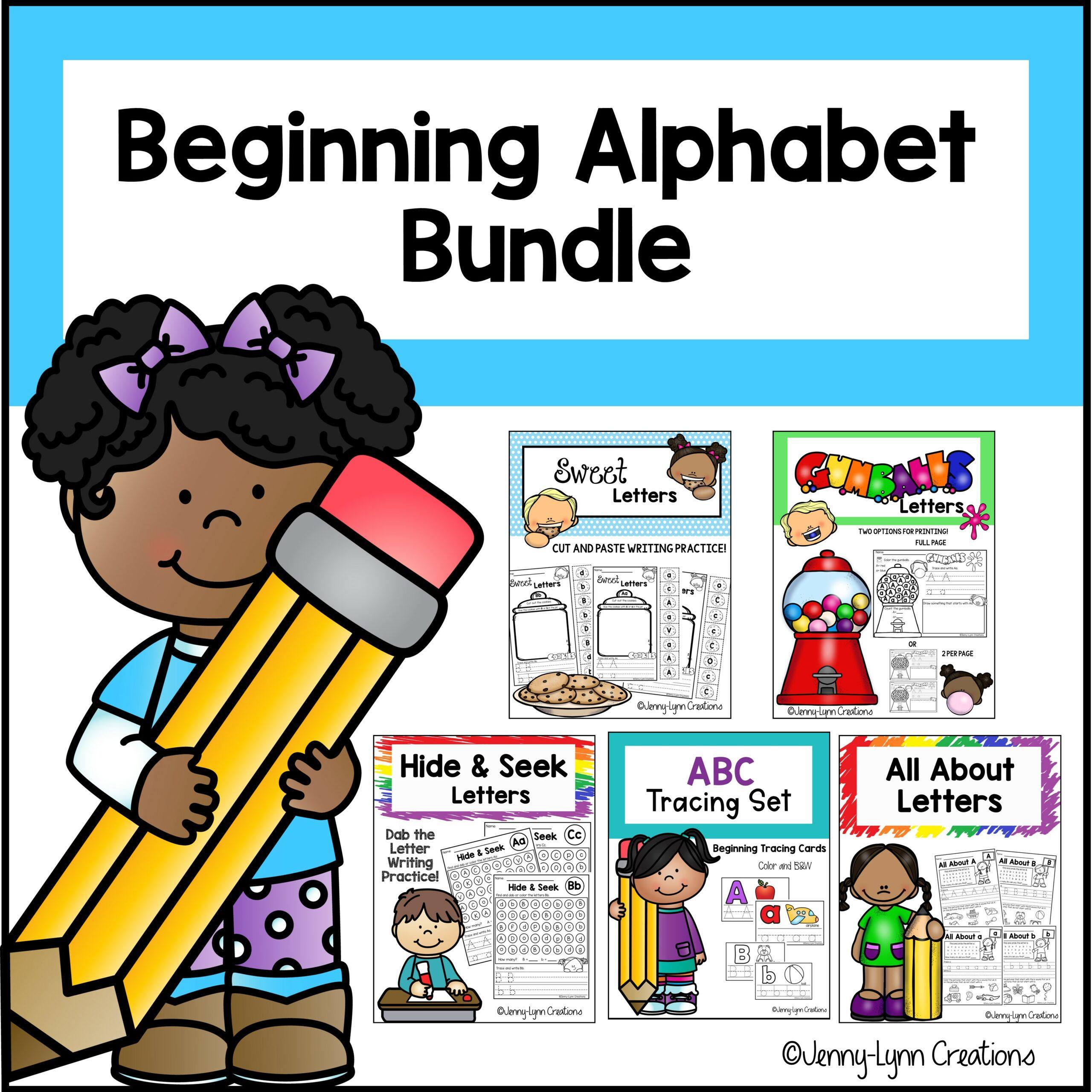 Beginning Alphabet Printable Worksheets