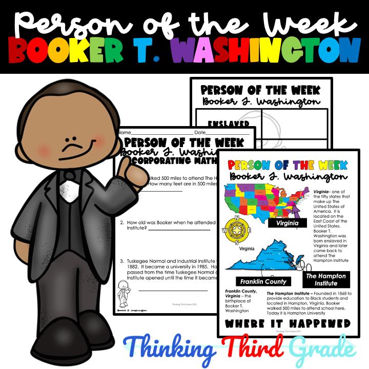 Booker T Washington Downloadable Teaching Resources