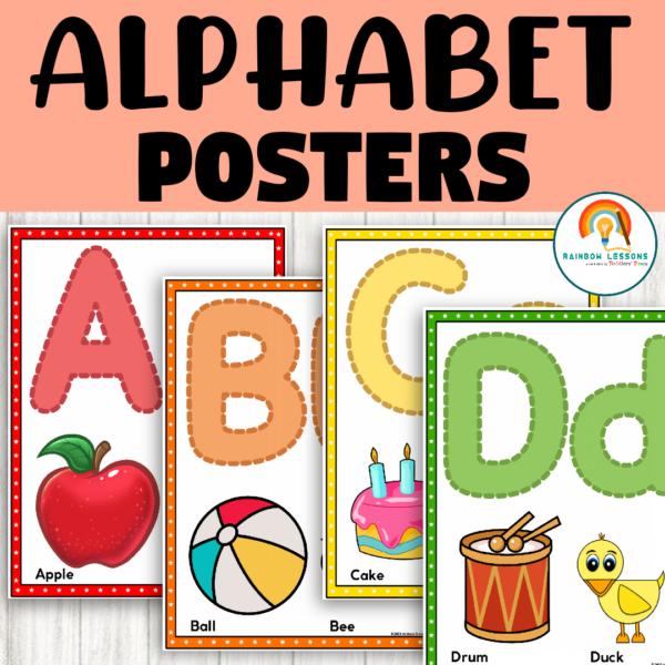 Alphabet Posters   Bulletin Boards Classroom Decor