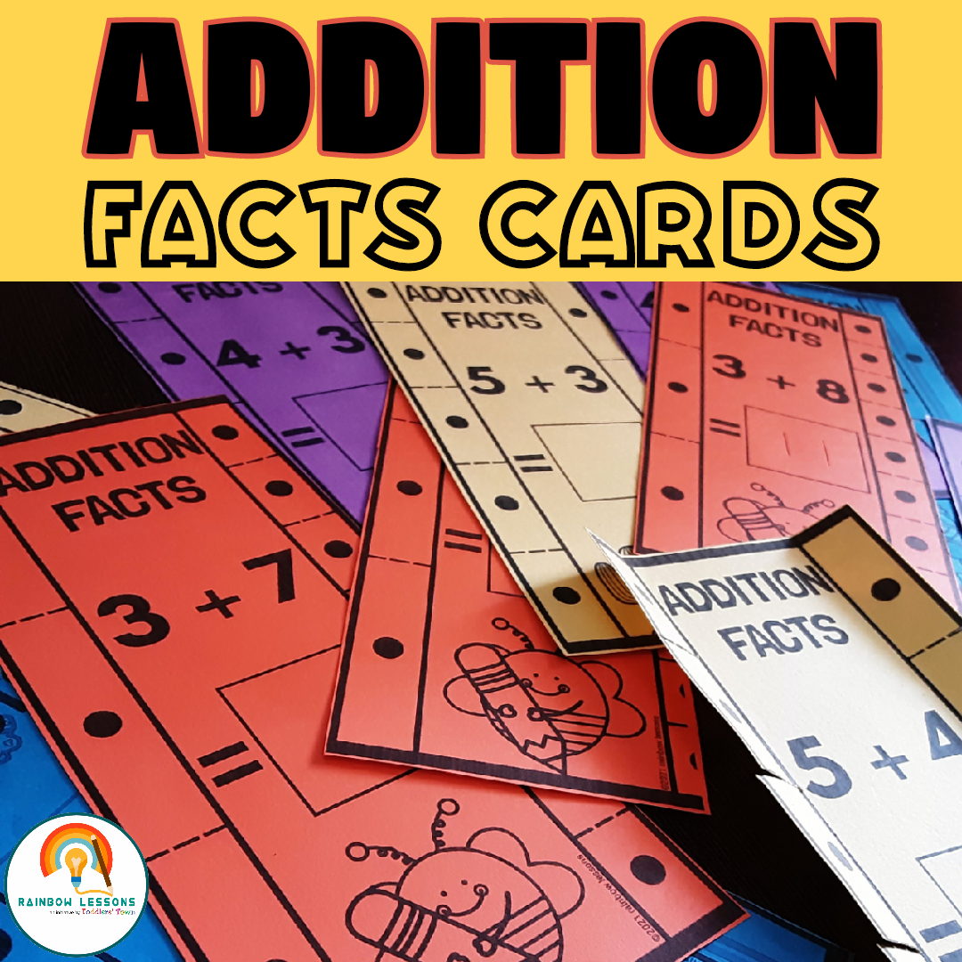 Addition Math Facts | Addition Facts Task Cards