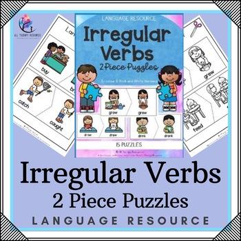 Irregular Verbs Printable Puzzles