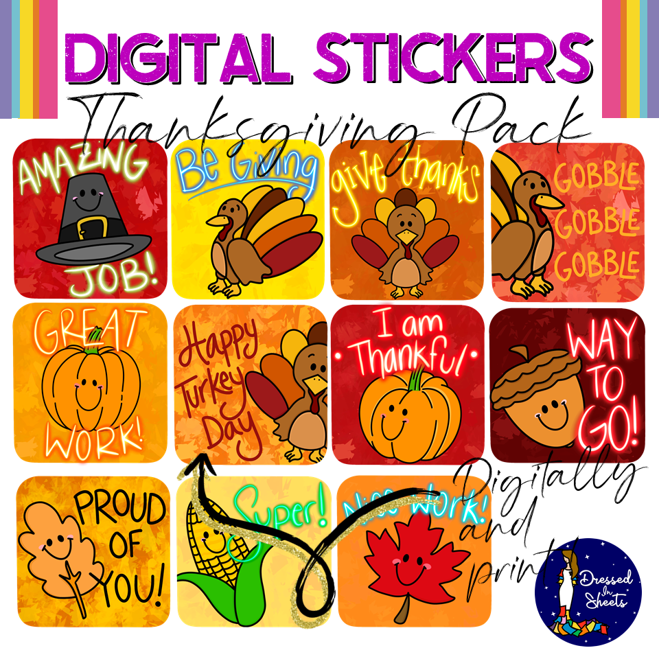 Thanksgiving Pack Downloadable Teaching Resources