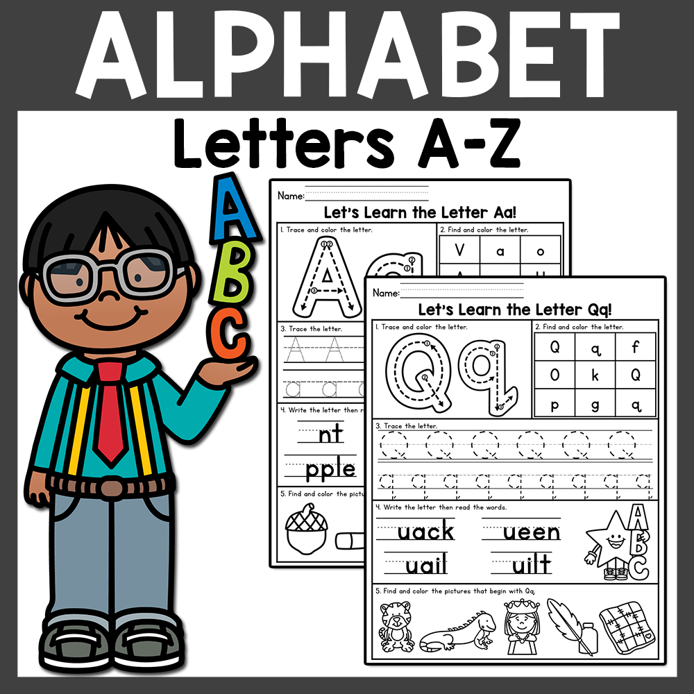 Alphabet Worksheets Downloadable Teaching Resources