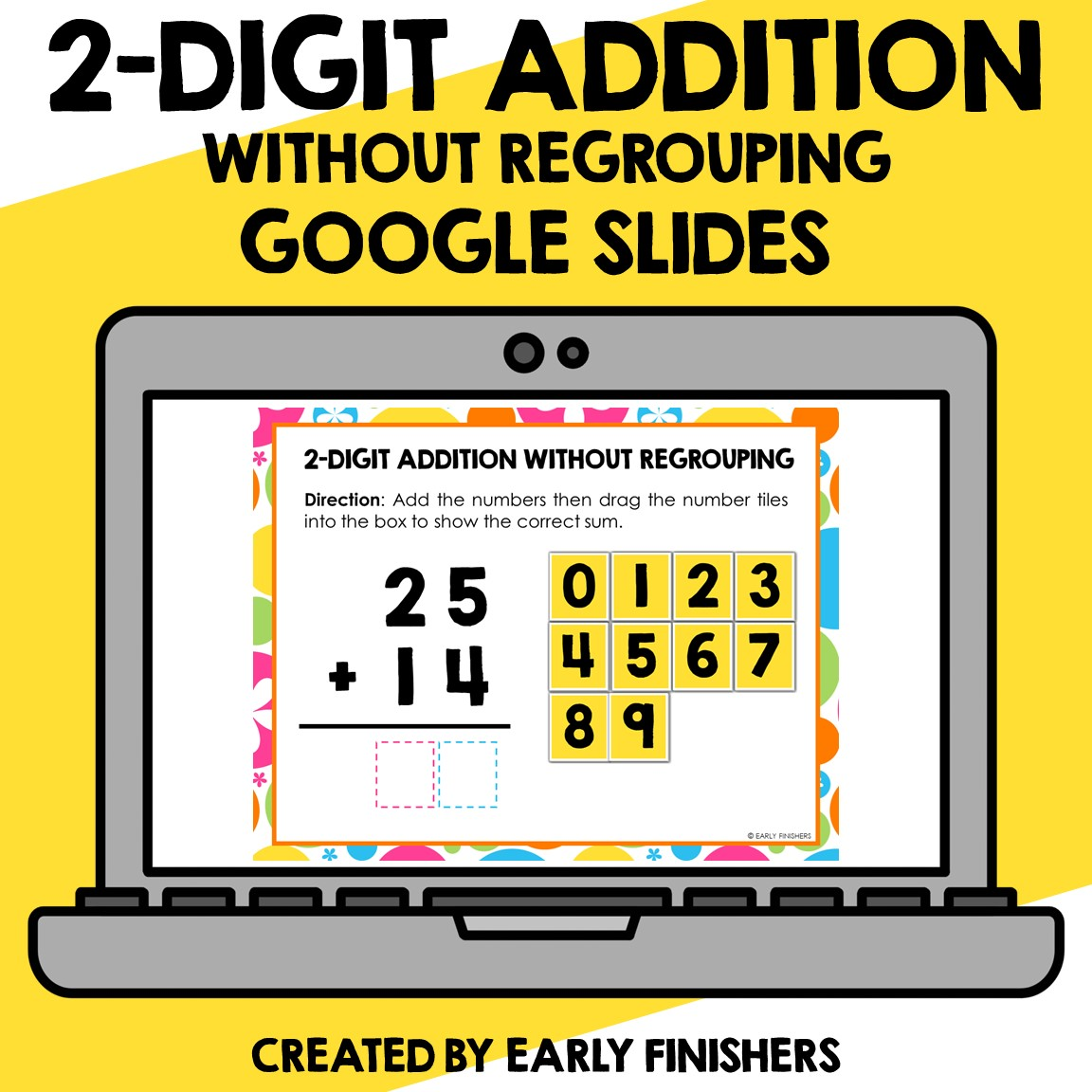 2 Digit Addition Without Regrouping Math Downloadable Teaching Resources