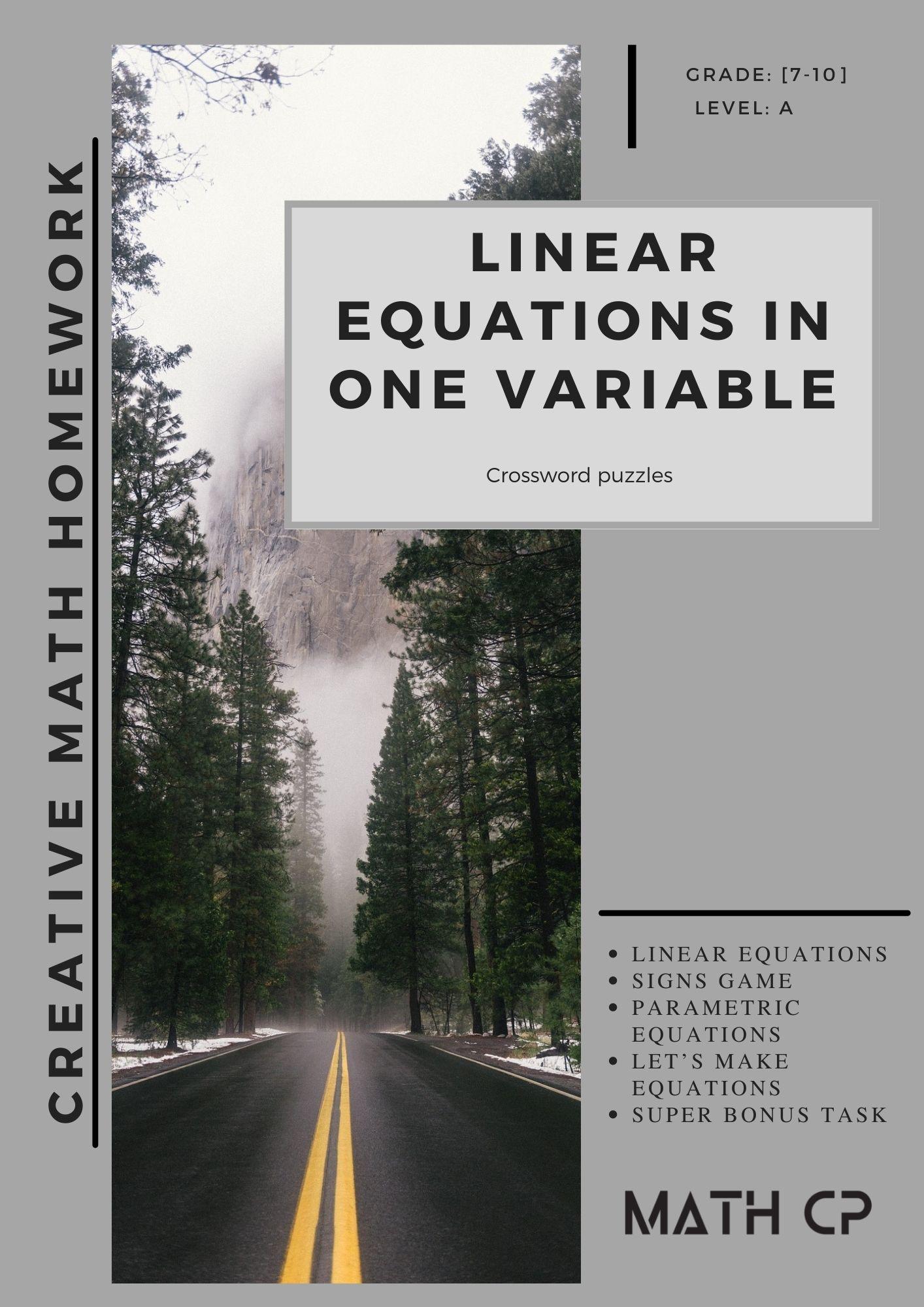 Linear Equation in One Variable Downloadable Teaching Resources