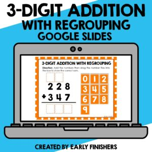 3 Digit Addition Math Downloadable Teaching Resources