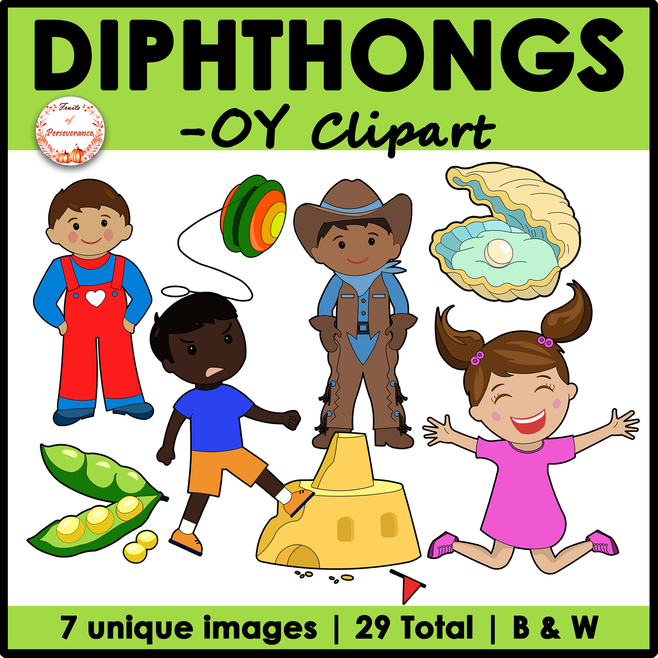 Diphthong OY Clipart