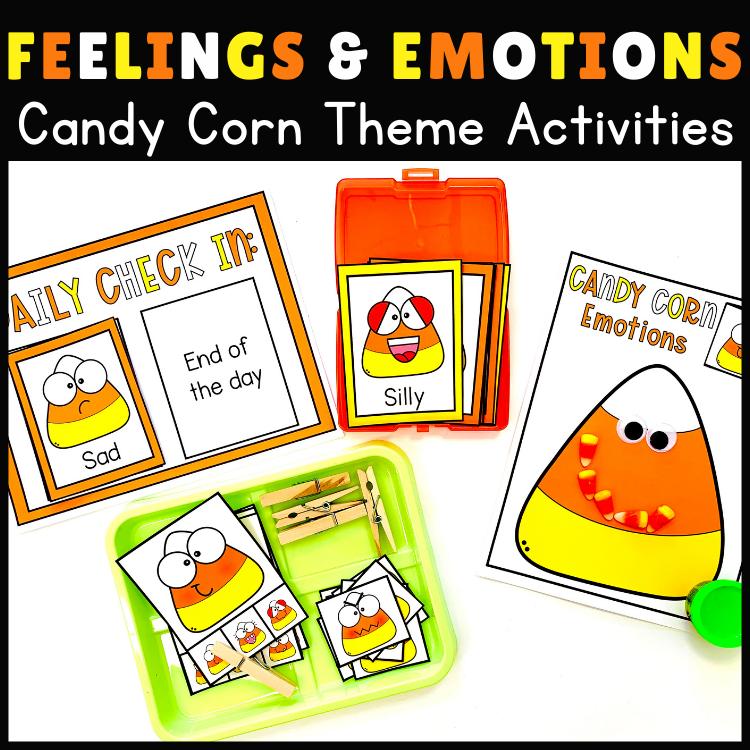 Halloween Activities Candy Corn Feelings
