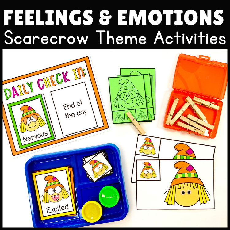 Feelings and Emotions Scarecrow Activities