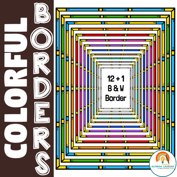 Page Borders and Frames Google Slides Borders