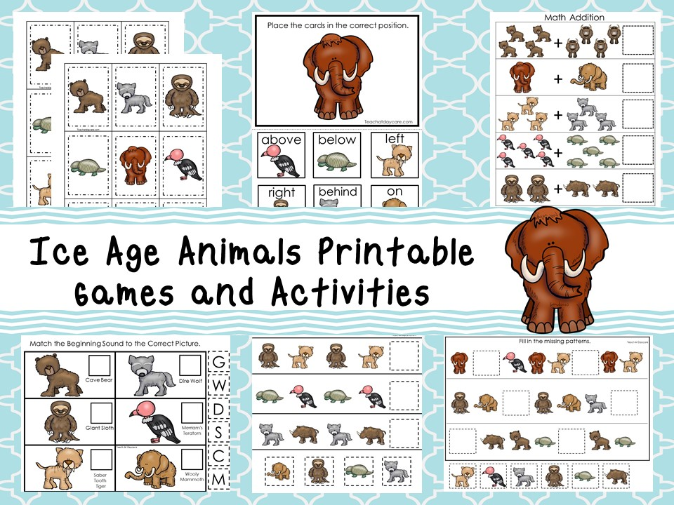 Downloadable Teaching Resources Games and Activities