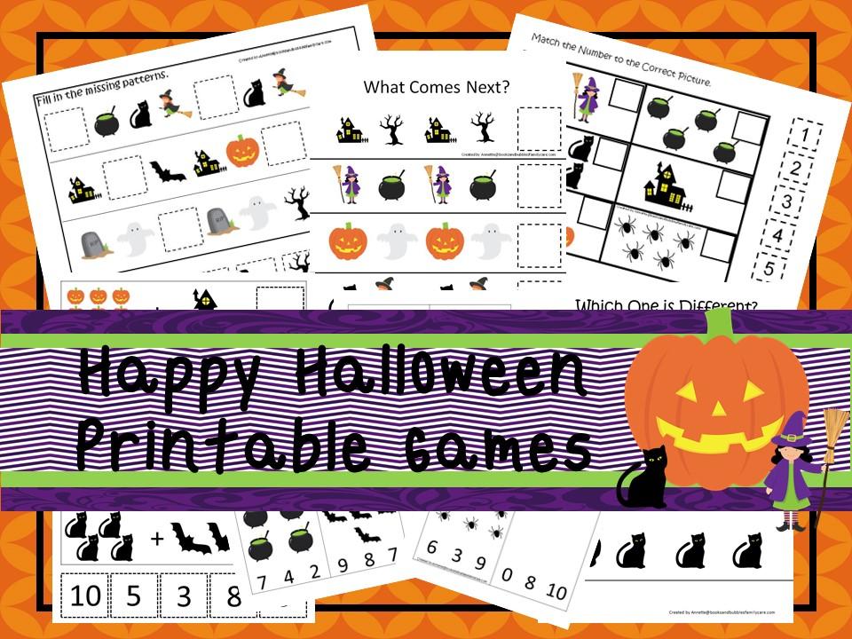 Downloadable Teaching Resources Halloween