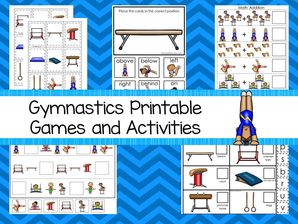 Downloadable Teaching Resources Gymnastics Printable