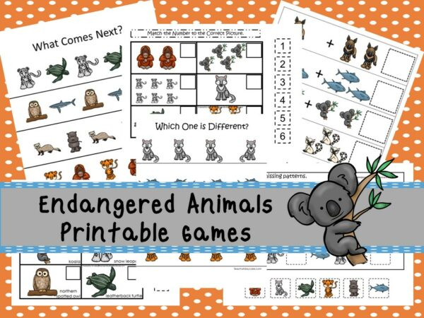 Downloadable Teaching Resources Math Printable Activities and Games