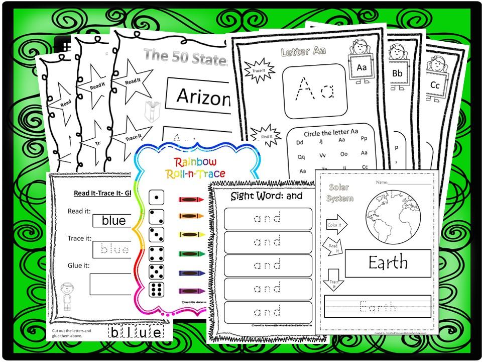 262 Preschool Worksheets Download. Preschool-K