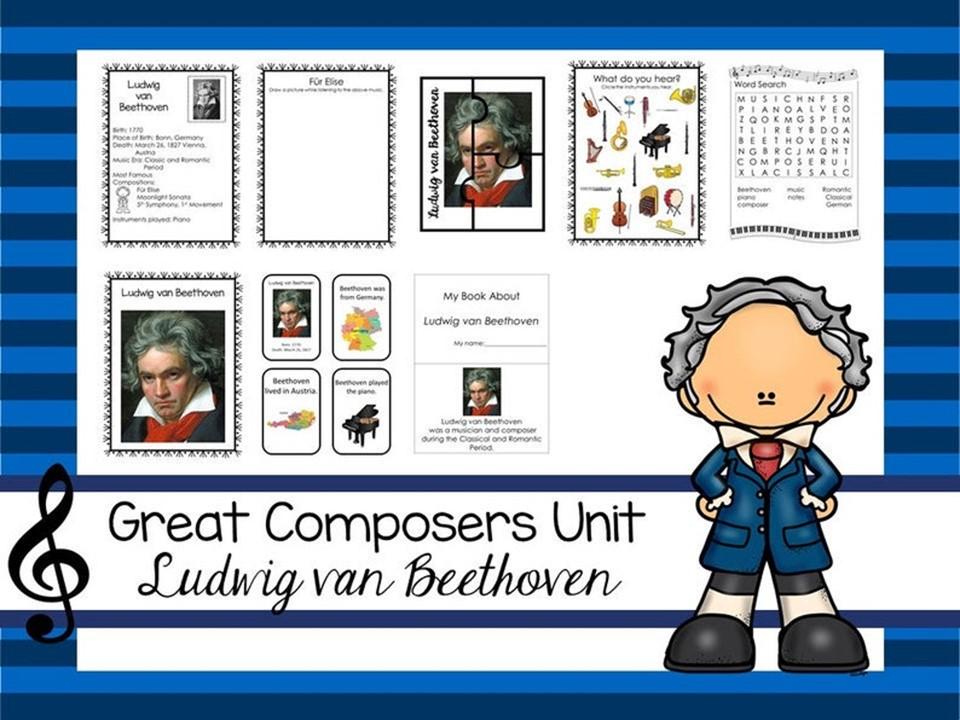 Ludwig van Beethoven Great Composer Unit. Music