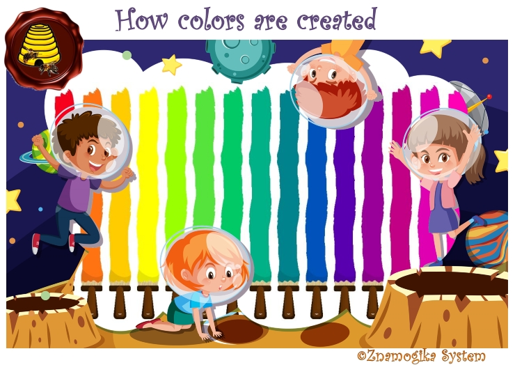 How Colors Are Created