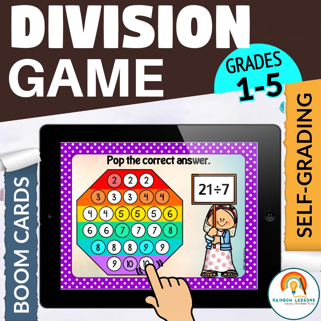 Short Division Game | Math Games