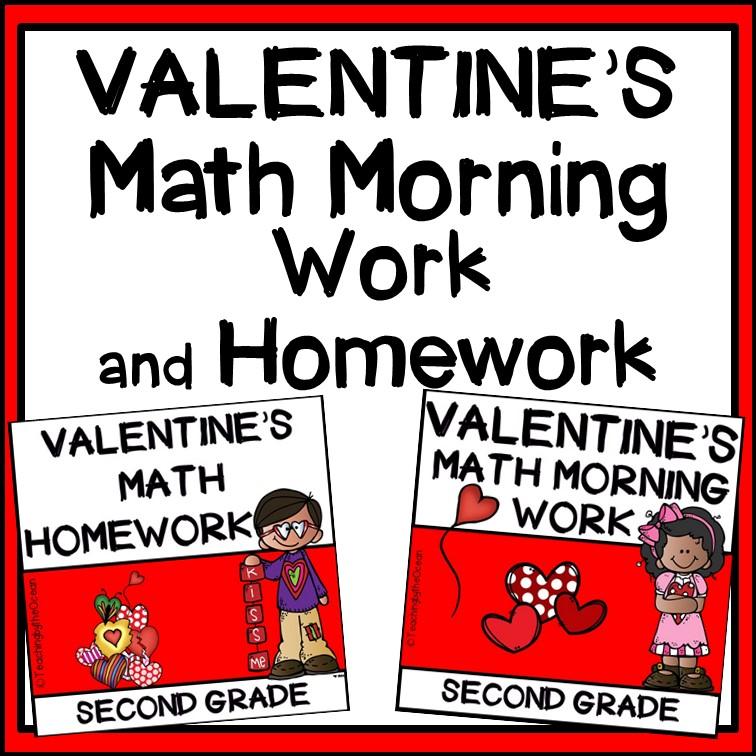2nd Grade Math Morning Work and Homework