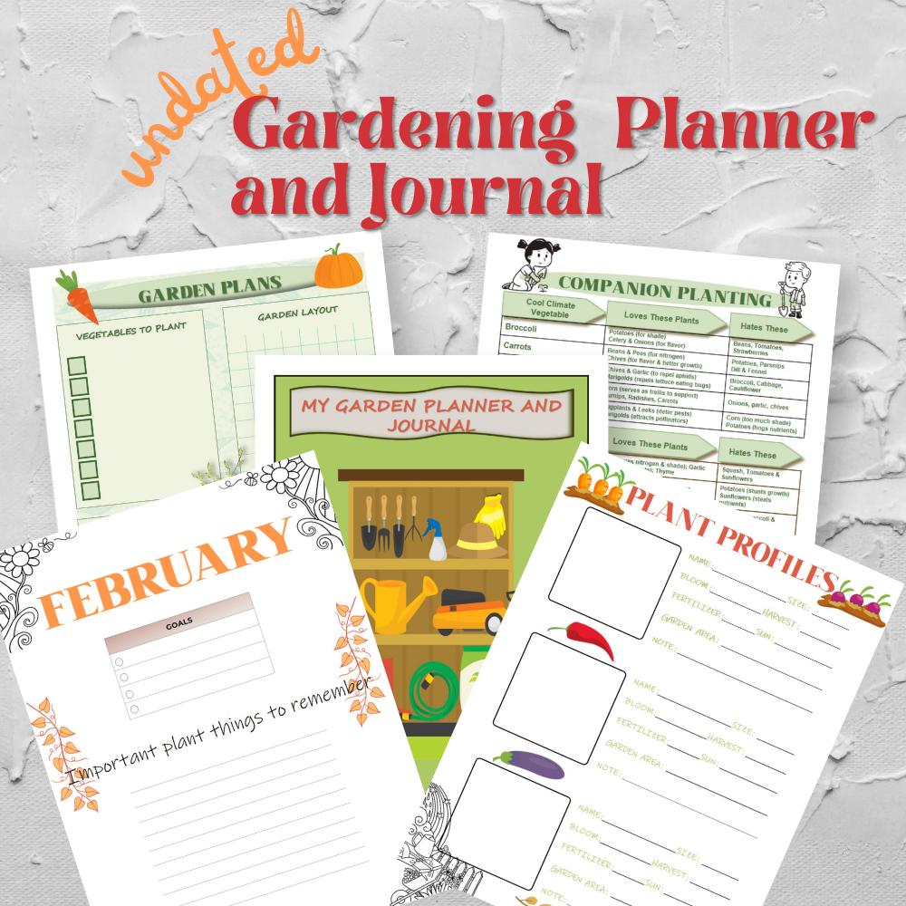 Gardening Planner and Journal