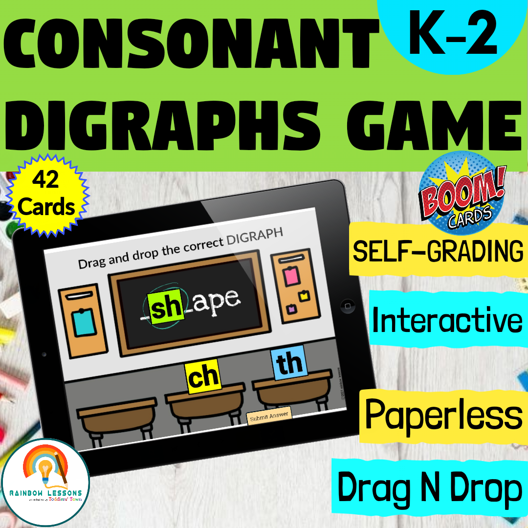Consonant Digraphs | Blends and Digraphs