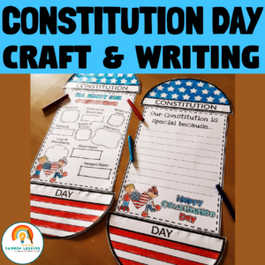 Constitution Day Crafts | Constitution Day Writing