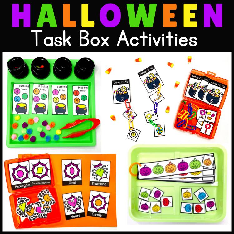 Halloween Activities Preschool to Kindergarten