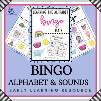 Alphabet Beginning Sounds Bingo Activity