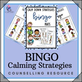 Calming and Coping Strategies Bingo Activity