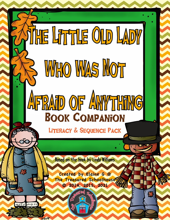 Little Old Lady Not Afraid Book Companion