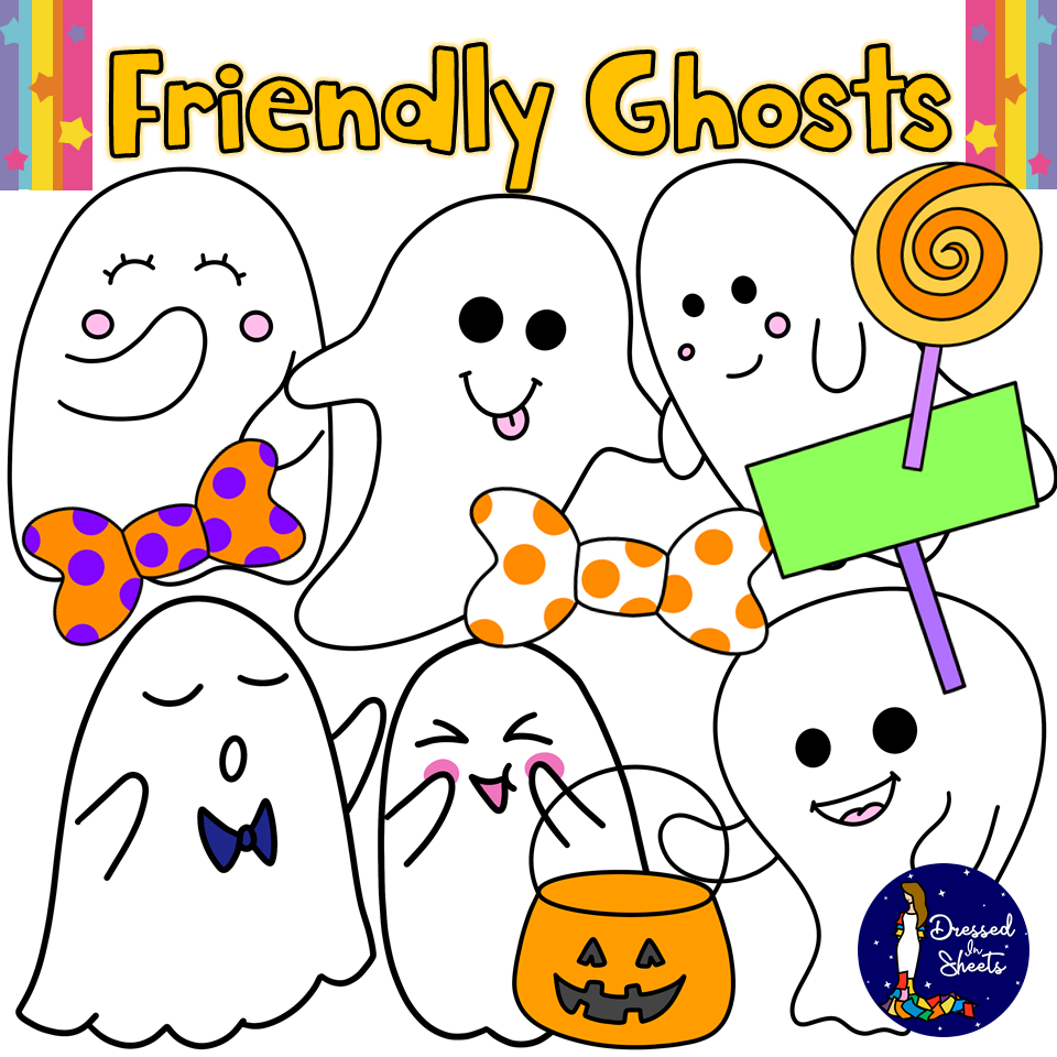 Friendly Ghosts Clips