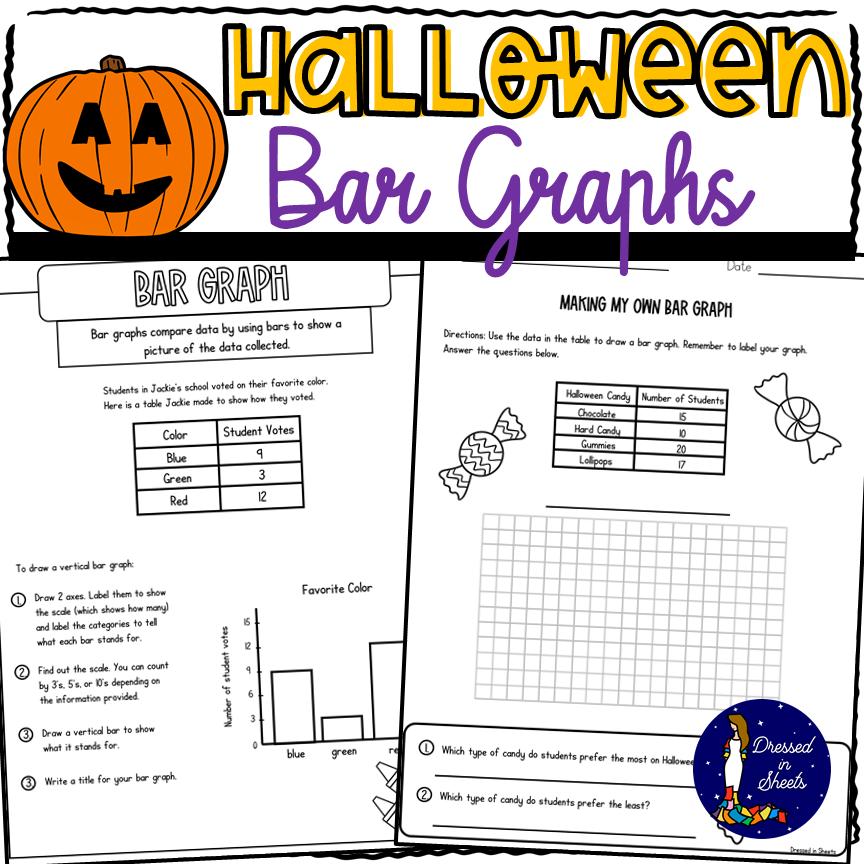 Halloween Bar Graphs