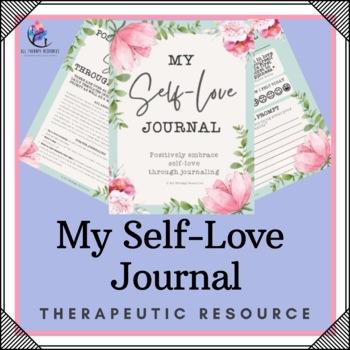 SELF LOVE and SELF ESTEEM JOURNAL for teenage girl