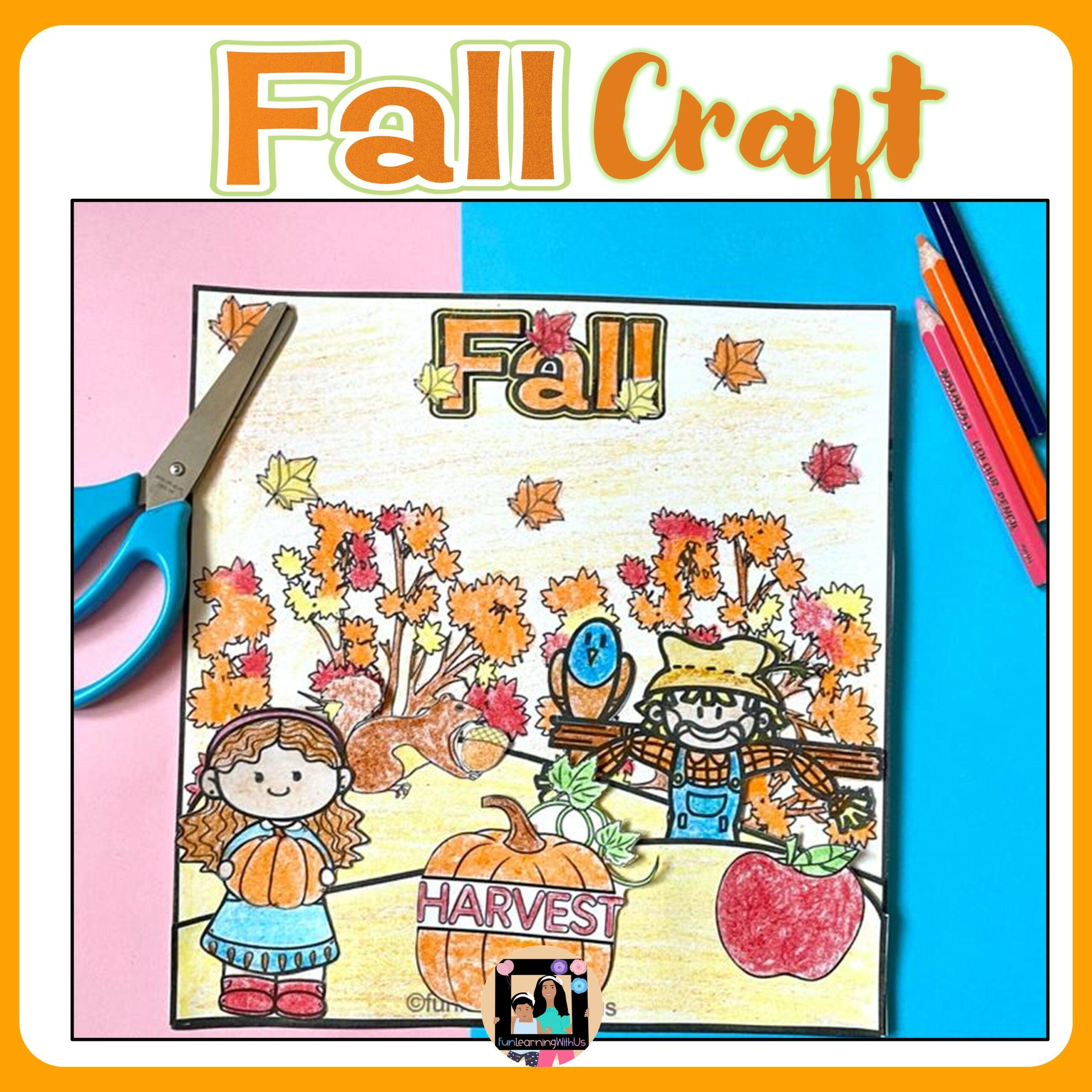Fall Craft | Fall Season Craft | Autumn Craft