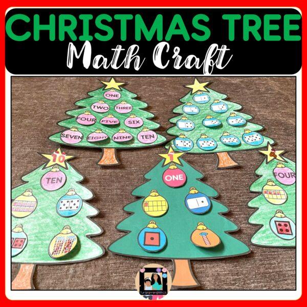 Christmas Tree math Craft   Winter Math Craft