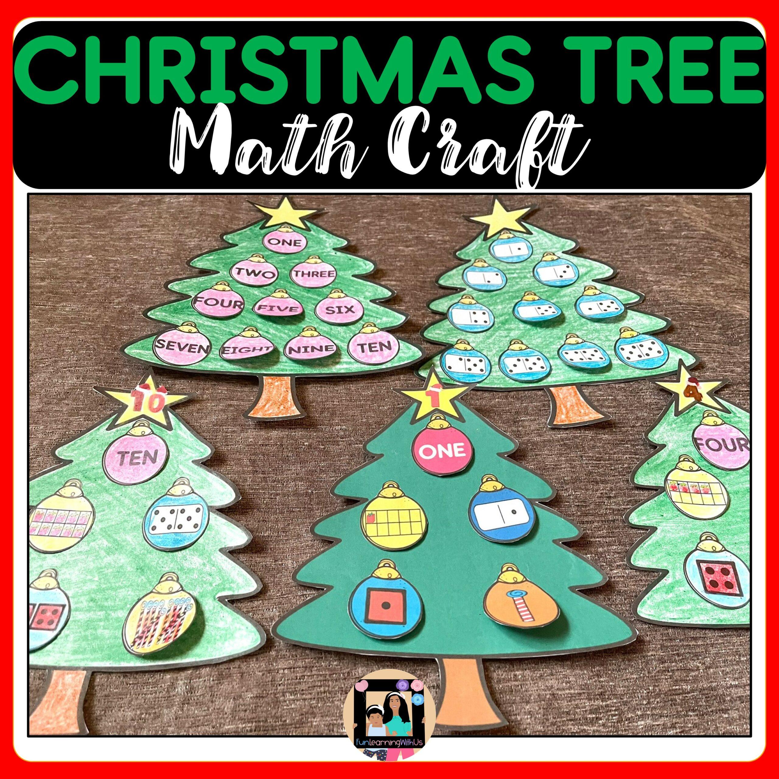 Christmas Tree math Craft | Winter Math Craft
