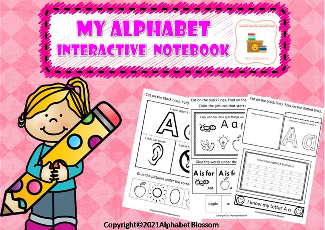 My Alphabet Interactive Notebook