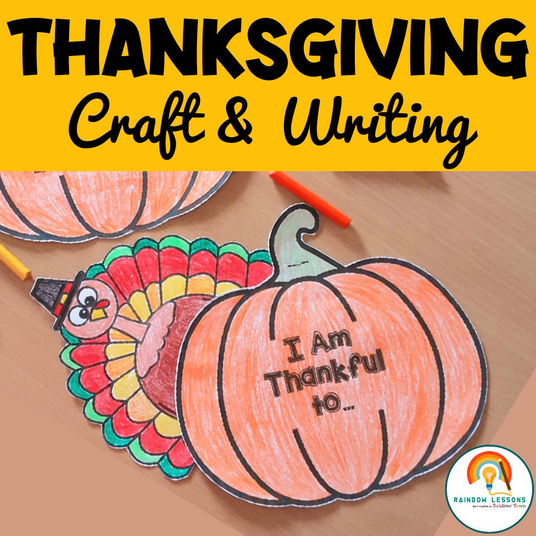 Thanksgiving Writing   Thanksgiving Craft